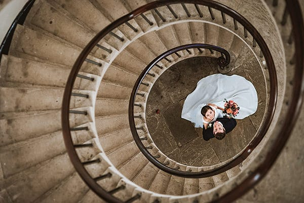 spiral staircase couple