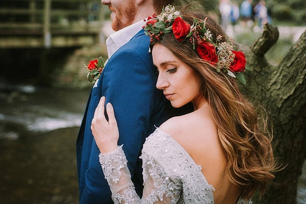 fairytale wedding couple shoot