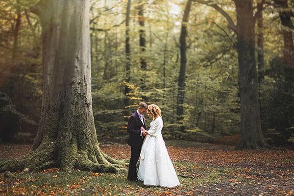 woodland couple shoot